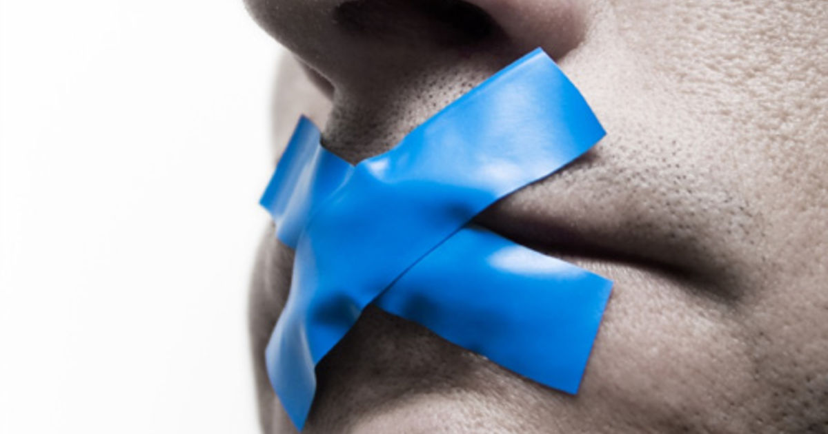 молчание. нельзя молчать. иллюзия прозрачности.