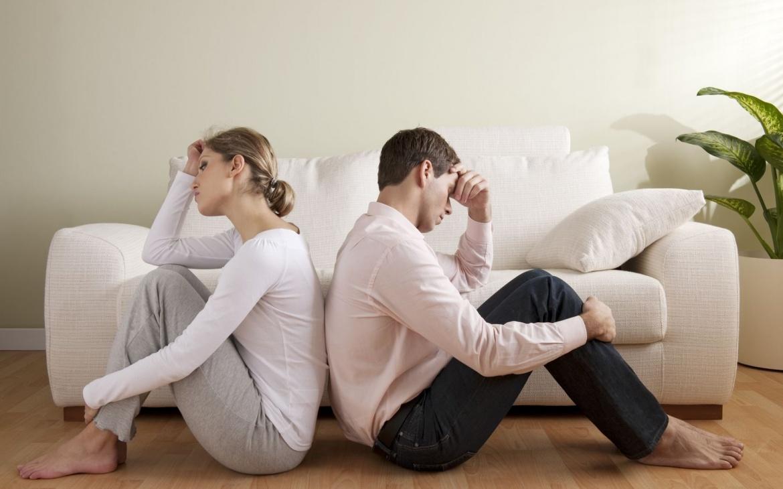 супружеский стресс. плохой брак.