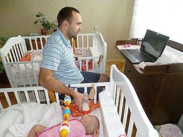 Как быть отцом. Как пережить рождение ребёнка.